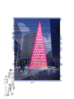 LiverpoolOne Book Giant Tree (2)