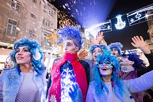 Jack Frost inspires Liverpool's Snowflake Trail