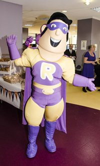R Charity Mascot Roy