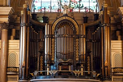 The Organ in St George's Hall