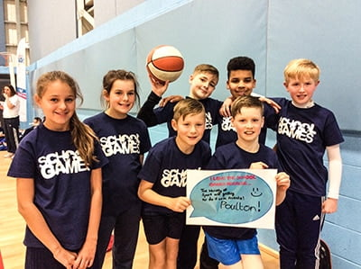 Yr 5&6 pupils explain why they love the school games