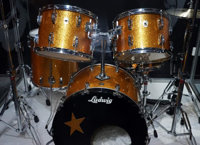 AN ICONIC Drum Kit Used By Ringo Starr Is Set To Go On Display At The Beatles Story Liverpool Specially Designed Ludwig Gold Sparkle