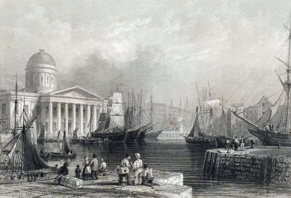 Bygone byways - Canning Dock, around 1840, was a hive for profitable shipping