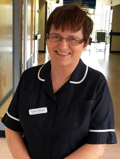Hospital hero Maria will take part in the first ever R Charity Hospital Hero Walk