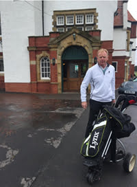 David Fairclough at Charity Golf Day
