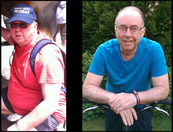 Phil Mottram before and after