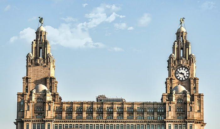 How Liver Birds Came To Roost On Building They Said Couldn't Be Built |  Good News Liverpool
