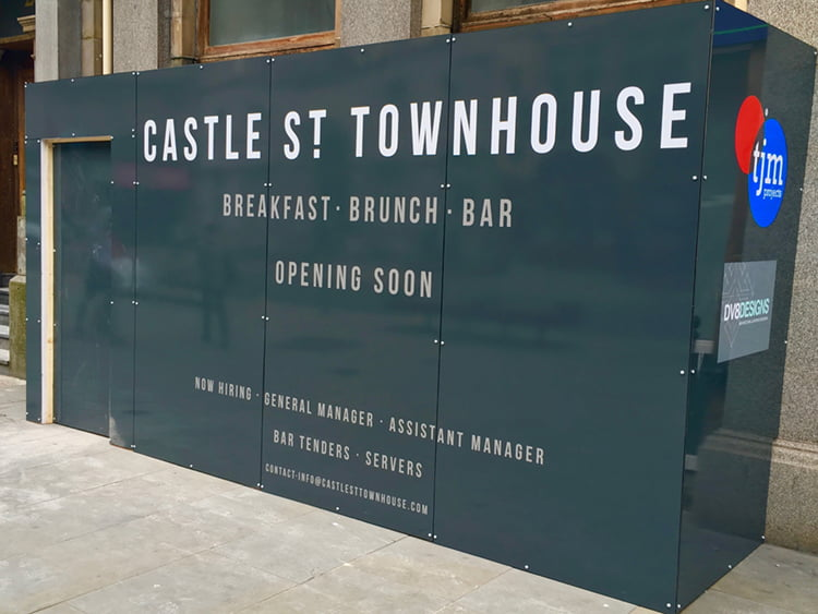 castle st townhouse to open its doors this summer good. Black Bedroom Furniture Sets. Home Design Ideas