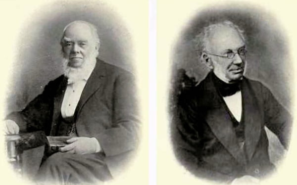 James Allanson Picton and William Brown.