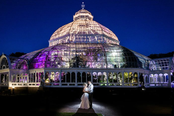 wedding fayre at sefton park palm house good news liverpool