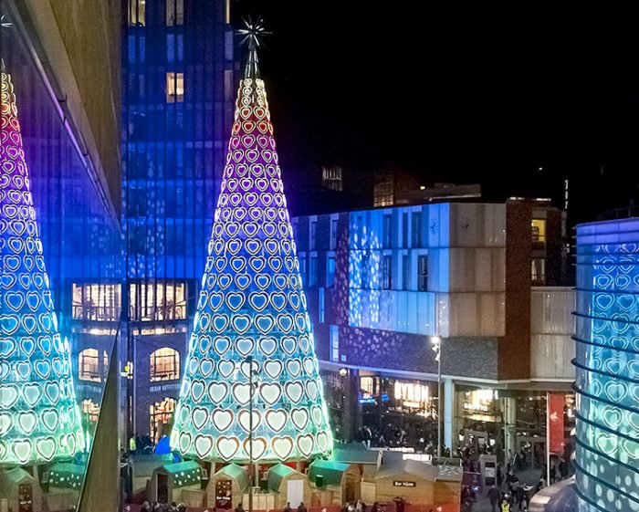 eac2d8e6200 Light spectacular for Christmas at Liverpool ONE