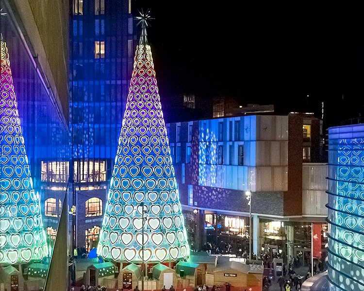 Light Spectacular For Christmas At Liverpool One Good