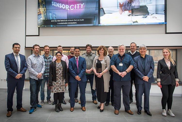 Sensor City names 10 SME winners of £10k growth package