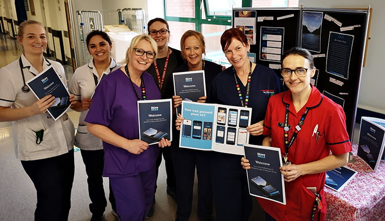 NHS staff create app to boost health and wellbeing at work