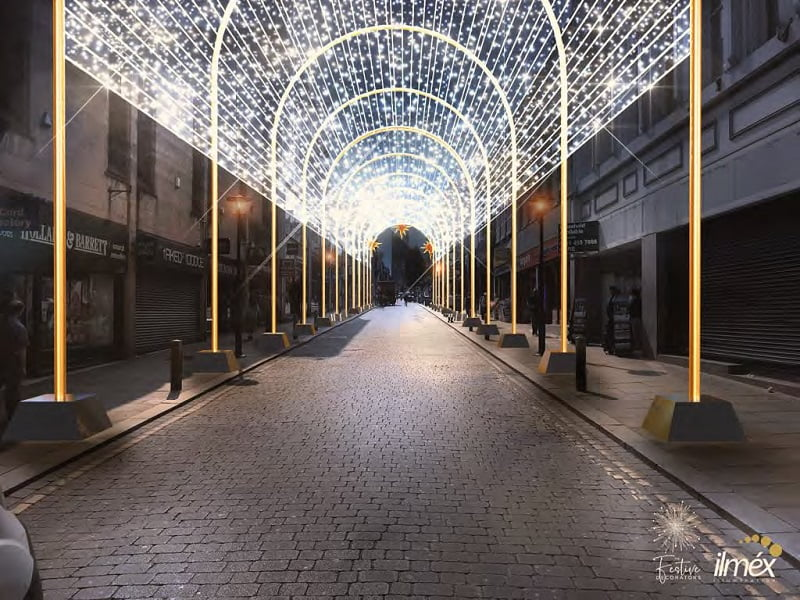 Spectacular festive lights announced for Liverpool